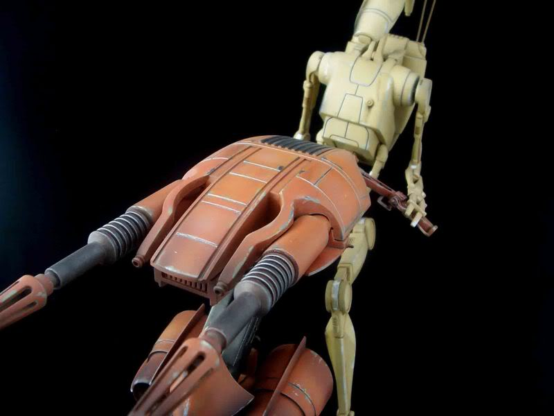 Star Wars -  Battle droid with Stap  Mapeo076