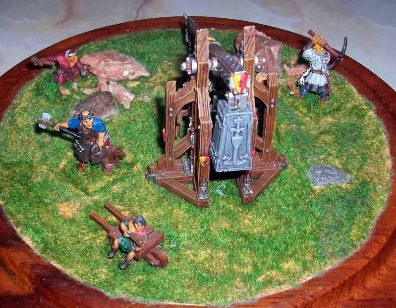 Warhammer  - Bretonnian Field Trebuchet  100_3281j