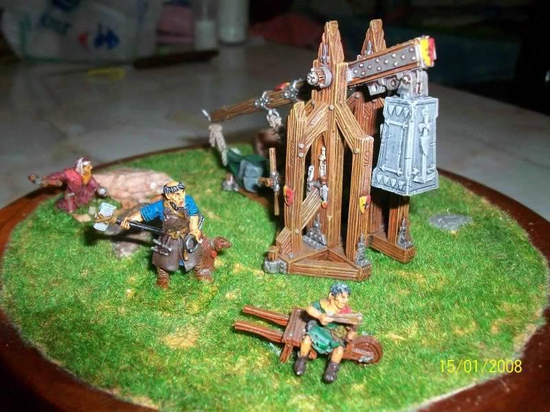 Warhammer  - Bretonnian Field Trebuchet  100_3283c