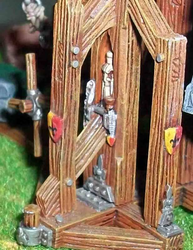 Warhammer  - Bretonnian Field Trebuchet  100_3283z
