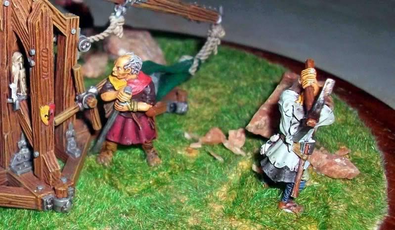 Warhammer  - Bretonnian Field Trebuchet  100_3284-1