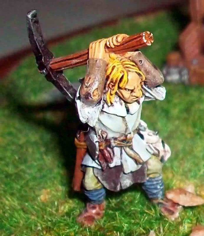Warhammer  - Bretonnian Field Trebuchet  100_3287