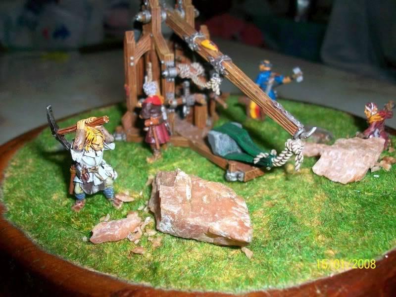 Warhammer  - Bretonnian Field Trebuchet  100_3287w