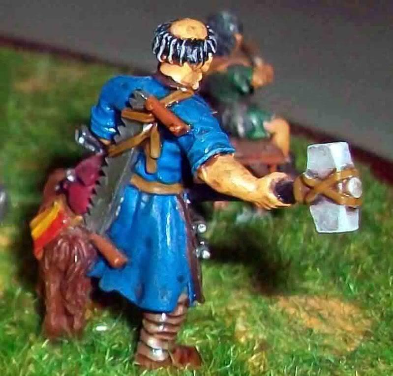 Warhammer  - Bretonnian Field Trebuchet  100_3289
