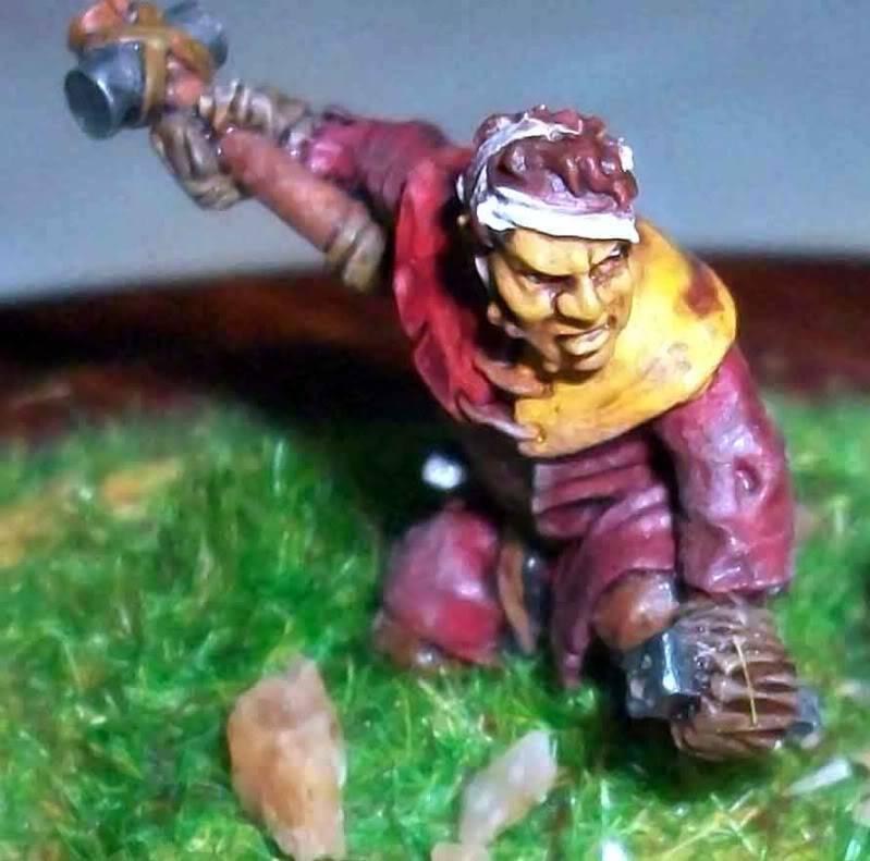 Warhammer  - Bretonnian Field Trebuchet  100_3290