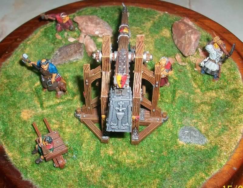 Warhammer  - Bretonnian Field Trebuchet  100_3297