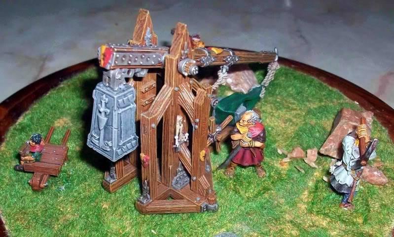 Warhammer  - Bretonnian Field Trebuchet  100_3298n