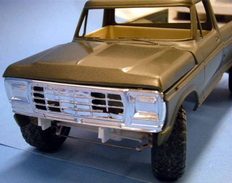 Ford F-350 Pick-up 1979 4x4 1/24 FORD4X4197910Grande