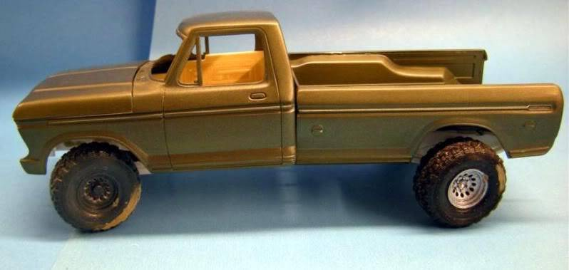 Ford F-350 Pick-up 1979 4x4 1/24 FORD4X419798Grande