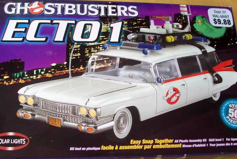 Kit Review - Ecto 1 - Ghostbusters Imagen047