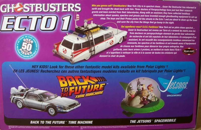 Kit Review - Ecto 1 - Ghostbusters Imagen051