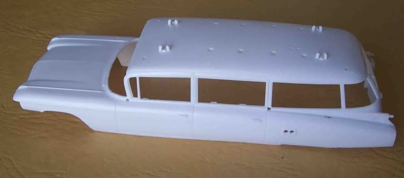 Kit Review - Ecto 1 - Ghostbusters Imagen062