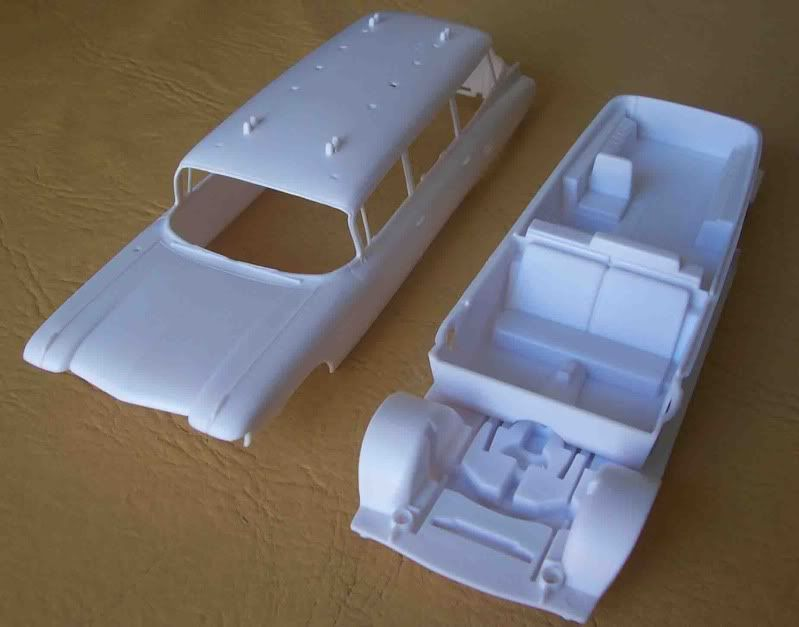 Kit Review - Ecto 1 - Ghostbusters Imagen068