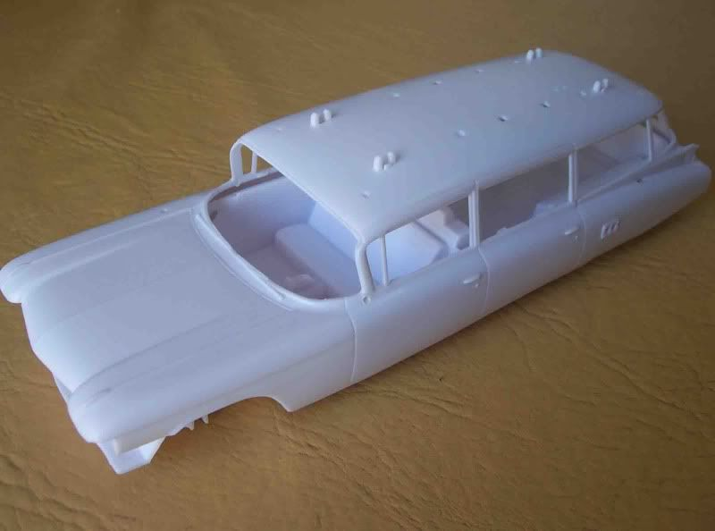 Kit Review - Ecto 1 - Ghostbusters Imagen070