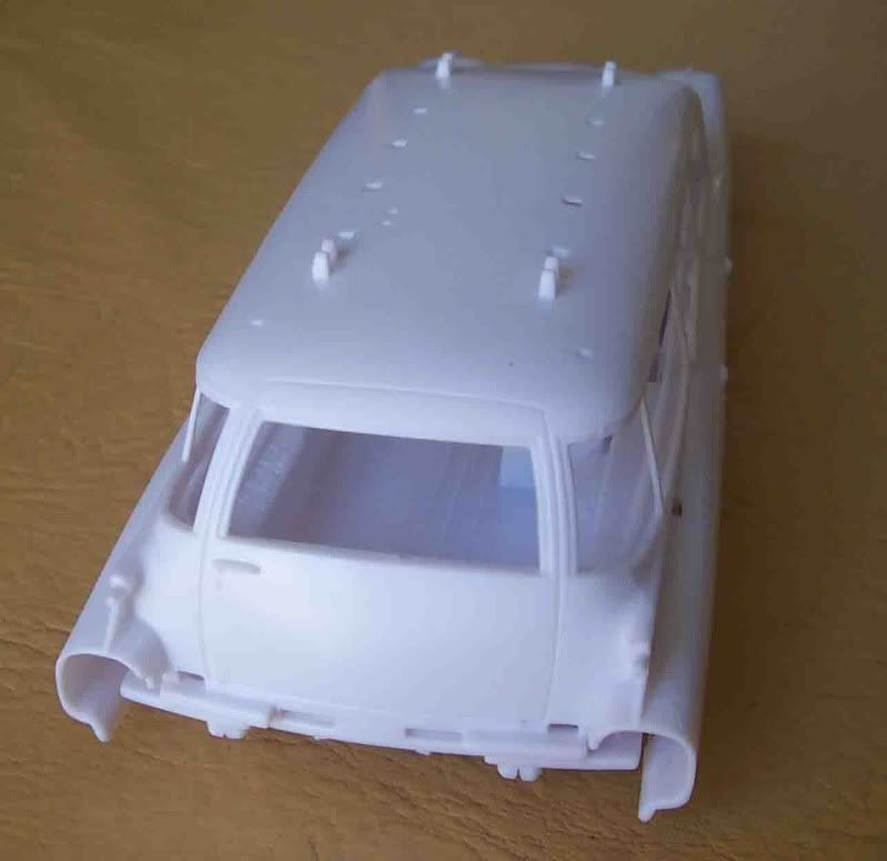 Kit Review - Ecto 1 - Ghostbusters Imagen071