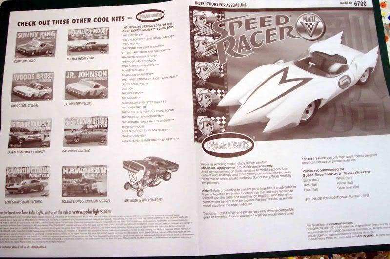 Kit Review - Mach V - Meteoro (Speed Racer) Imagen031