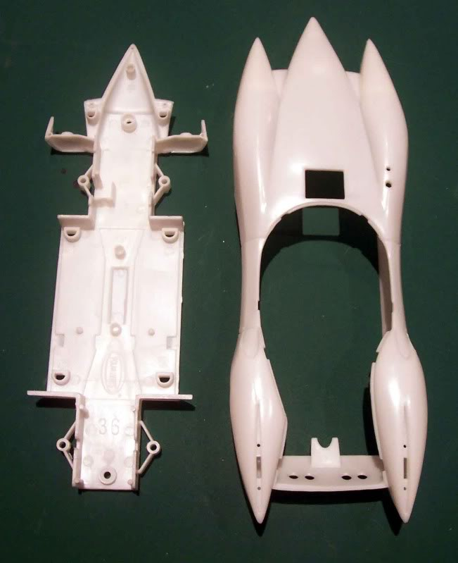 Kit Review - Mach V - Meteoro (Speed Racer) Imagen040