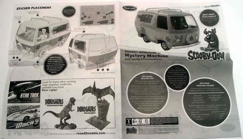 Kit Review - The Mistery Machine - Scooby Doo Imagen030