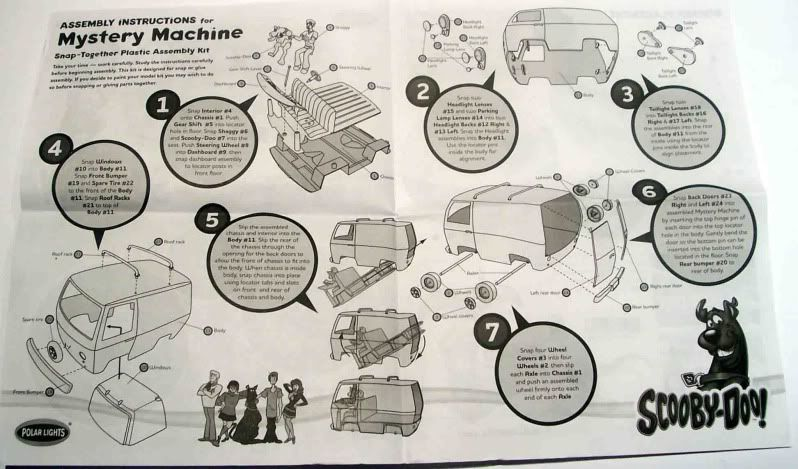 Kit Review - The Mistery Machine - Scooby Doo Imagen031