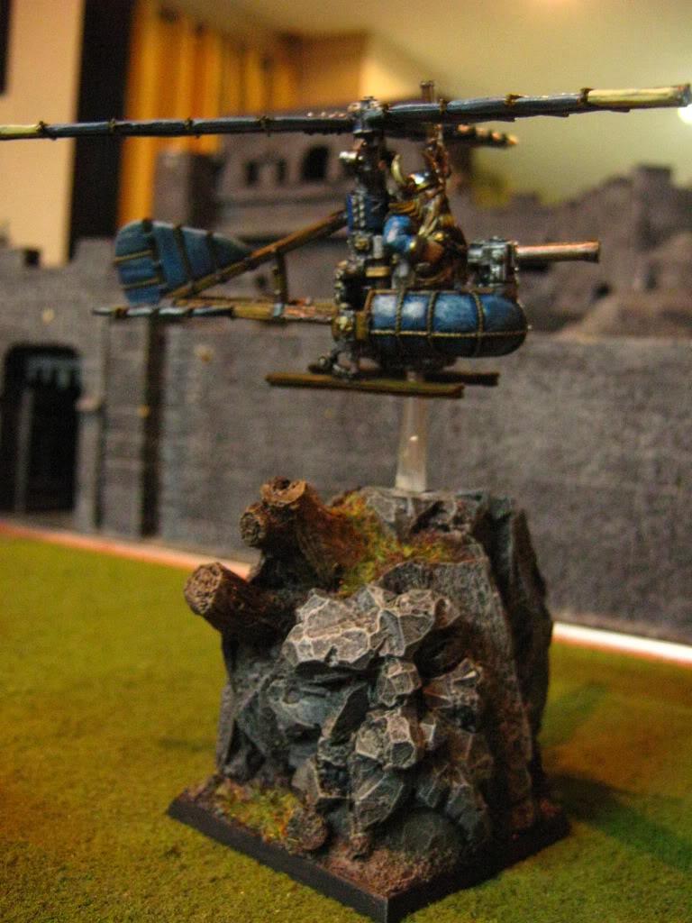Dreng Tromm's Random Works Dwarfgyrocopter