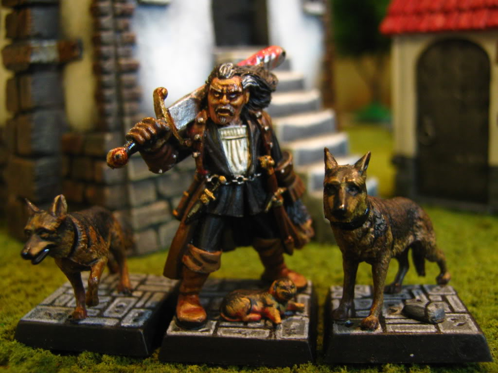 hunter - My Witch Hunter Warband WARHAMMER003-9