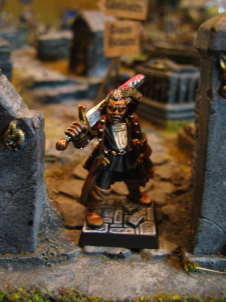 hunter - My Witch Hunter Warband WARHAMMER006-1