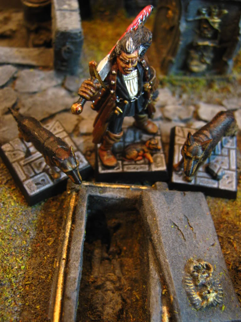 hunter - My Witch Hunter Warband WARHAMMER010-1