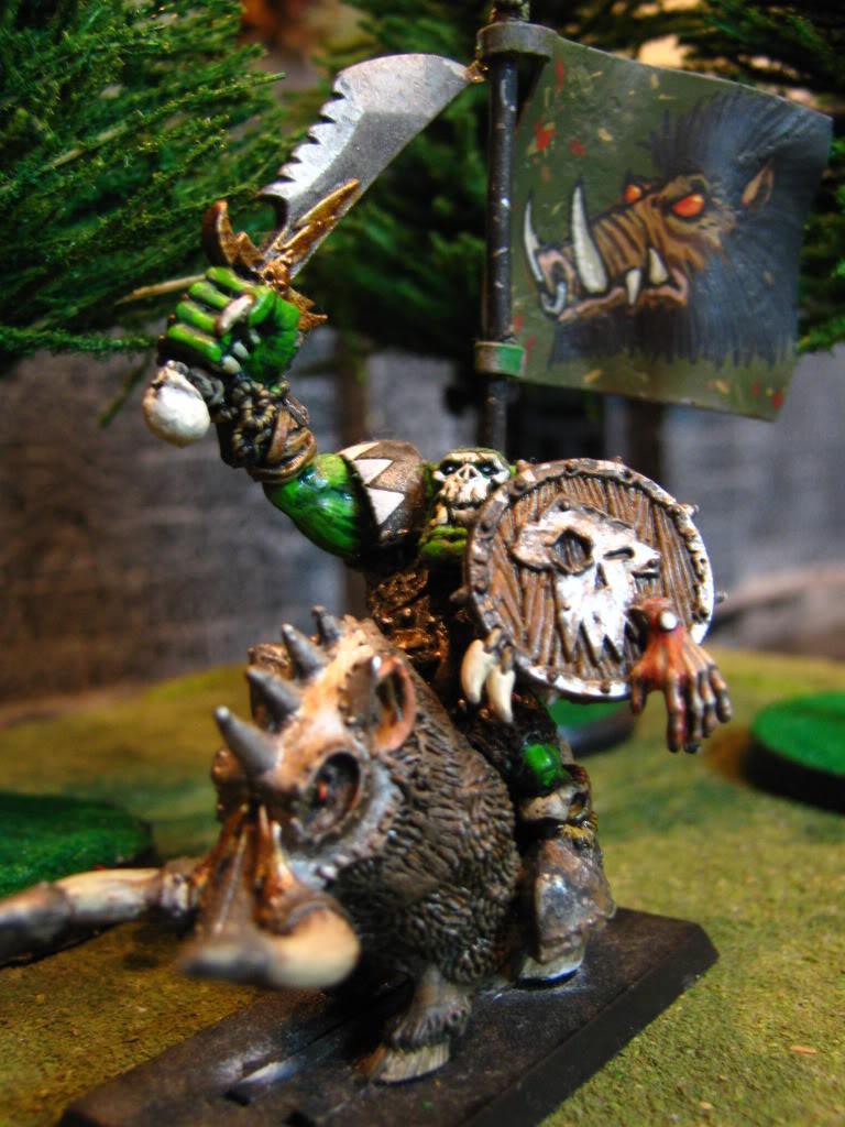 My Warhammer Banners BoarBoyStandardBearer