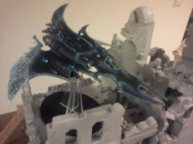 How does one paint a Razorwing sans Airbrush? Photo-0028
