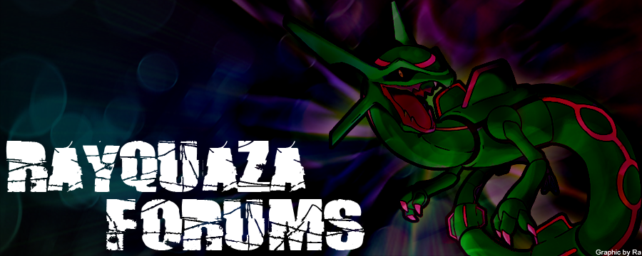 Rayquaza Forum Art Competition RayquazaBanner