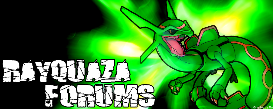 Rayquaza Forum Art Competition RayquazaBanner2