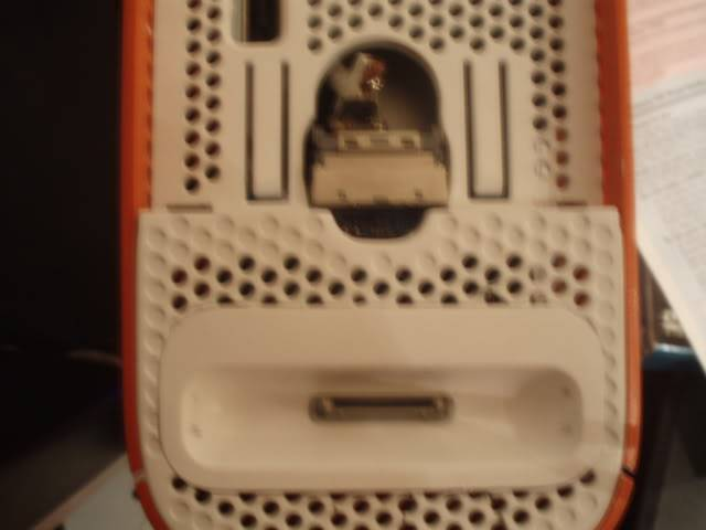 Ipod dock on top of 360 PC040218