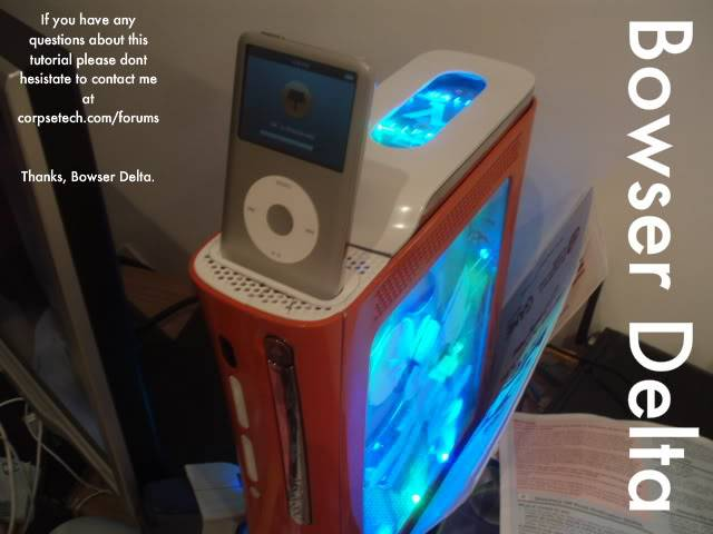 Ipod dock on top of 360 PC040222