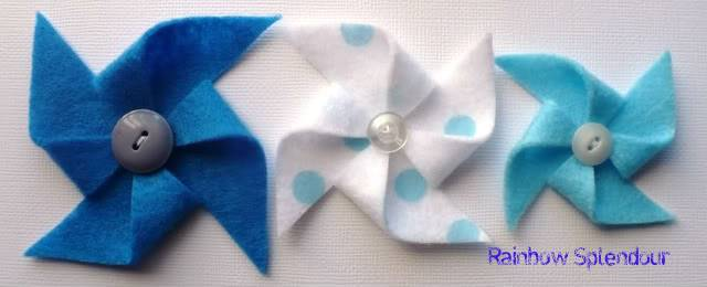 Felt pinwheels (plains and spotties) P1090732