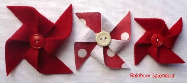 Felt pinwheels (plains and spotties) P1090735