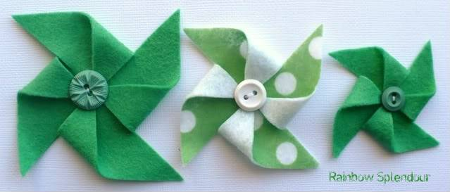 Felt pinwheels (plains and spotties) P1090742