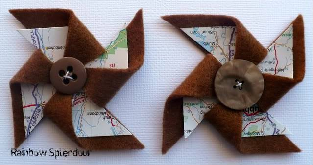 Felt and paper pinwheels P1090744
