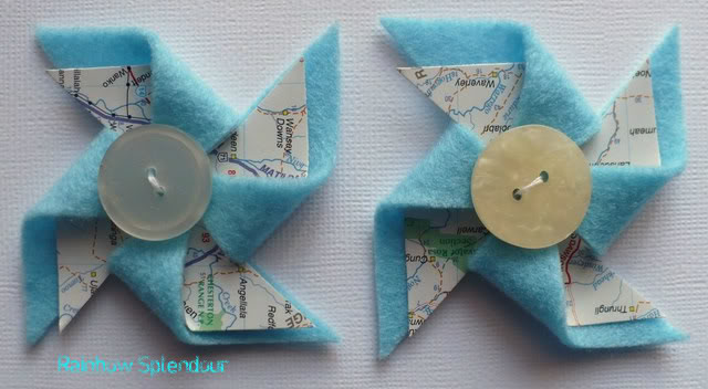 Felt and paper pinwheels P1090789