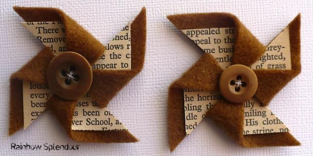 Felt and paper pinwheels P1090790