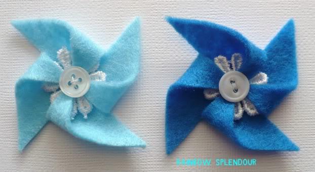 Felt and Lace pinwheels P1090951