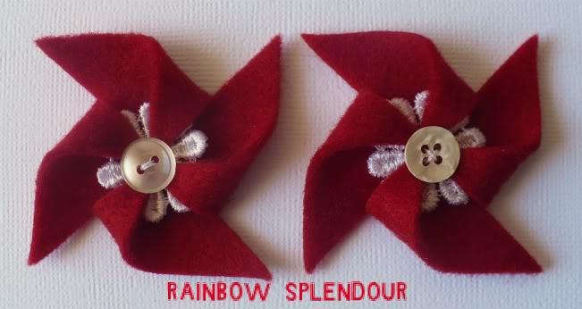 Felt and Lace pinwheels P1100086