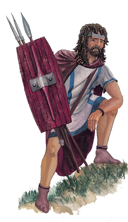 ANCIENT BASSANIA - OLD BOSNIA IllyrianFootman