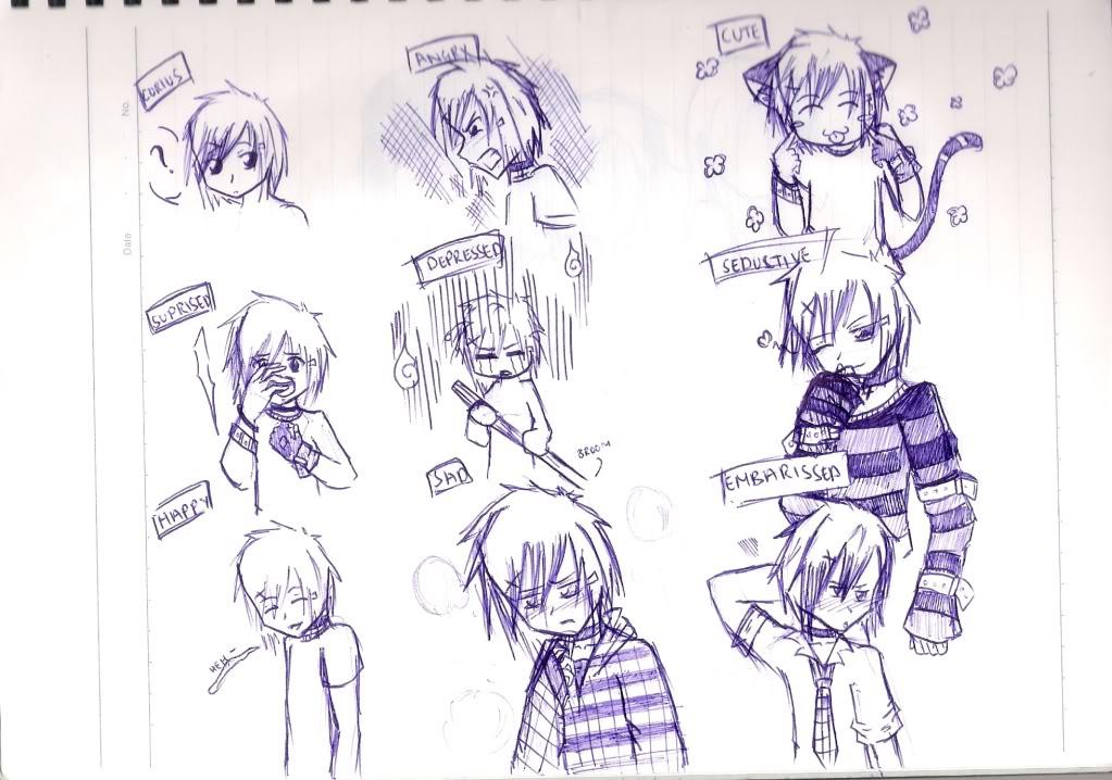 Spazzies RandomSketches~ Emotions