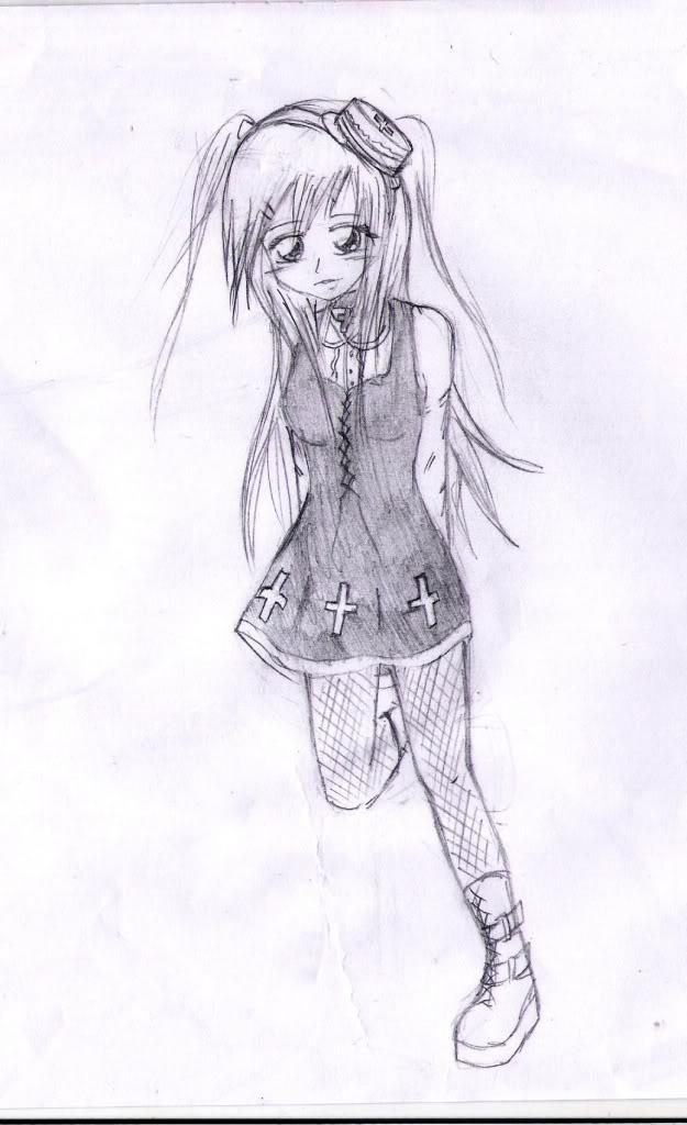 Spazzies RandomSketches~ RandomLoliGirl