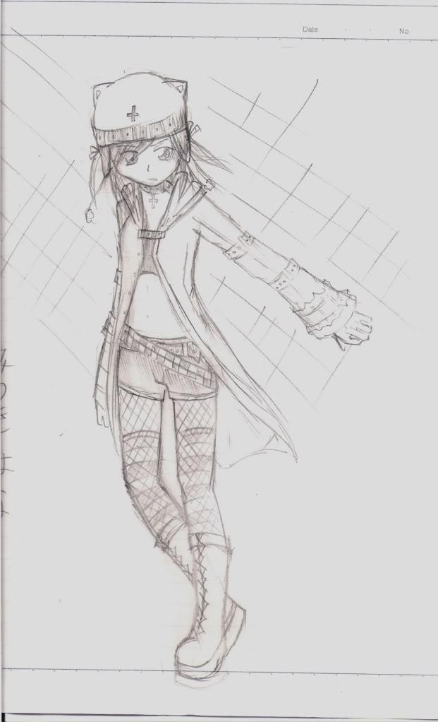 Spazzies RandomSketches~ RandomNekoGirl