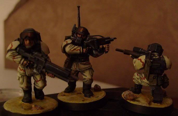 8eme Régiment d'Infanterie Mobile de Cadia. Noflash