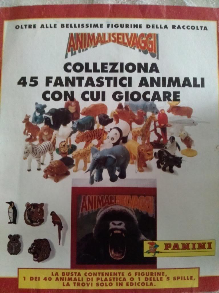 "Panini ""Animali Selvaggi"" sticker & figures collection Animaliselvaggi_zps27be967e"