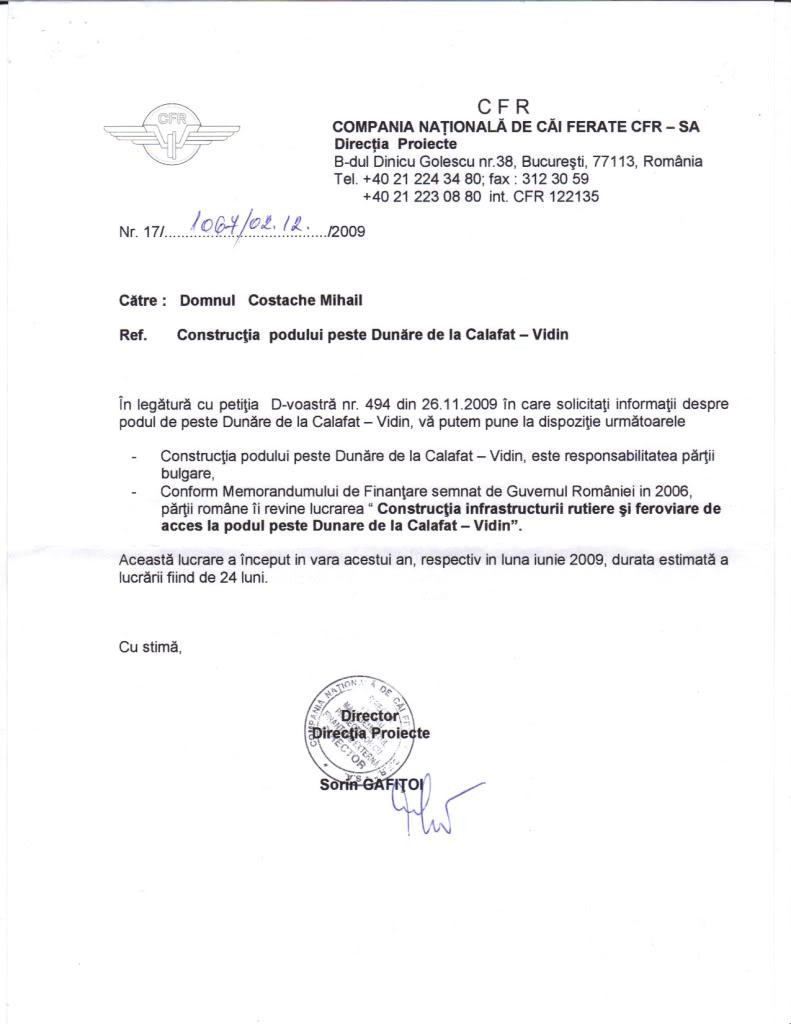 912 : Craiova - Golenti - (Calafat) - Vidin 12-8-200965023AM