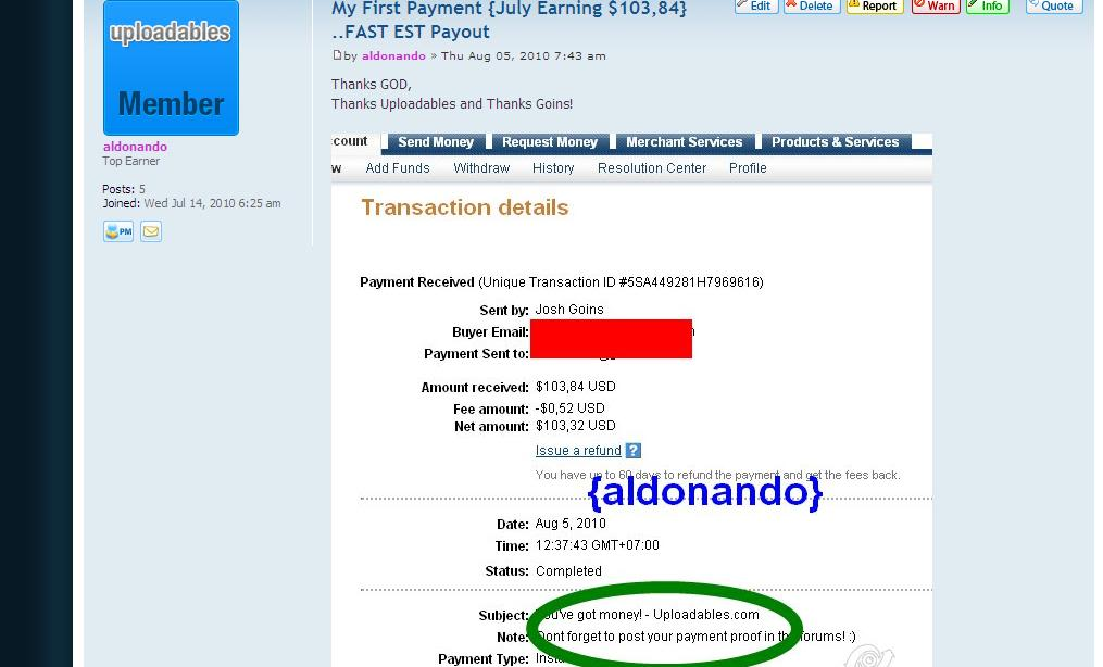 Get Paid To Download Proof2