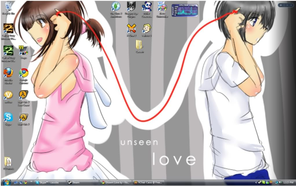 What does your desktop look like NOW? - Page 2 Desktopys